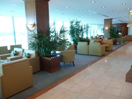 Lounge Area At Emirates Business Class Lounge In Melbourne Airport