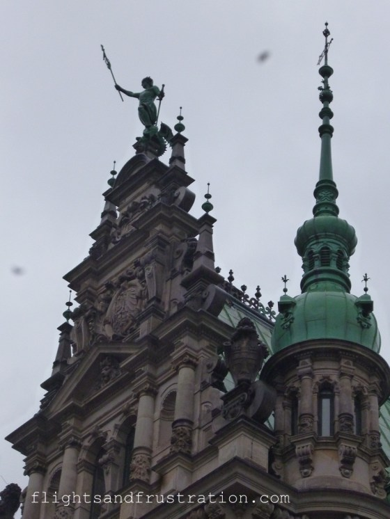 Such detail means it is easy to understand why it cost 11m German marks to build the Rathaus Hamburg in the 1800s