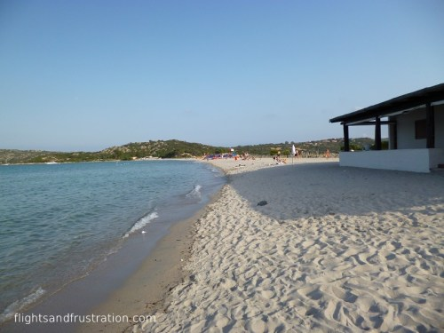 The beach at Port Taverna
