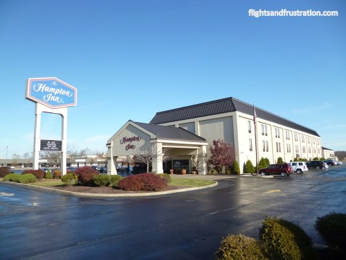 The Hampton Inn Uniontown PA