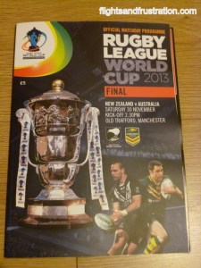 Watching The Ultimate Of Rugby League Games, The Rugby League World Cup Final 2013