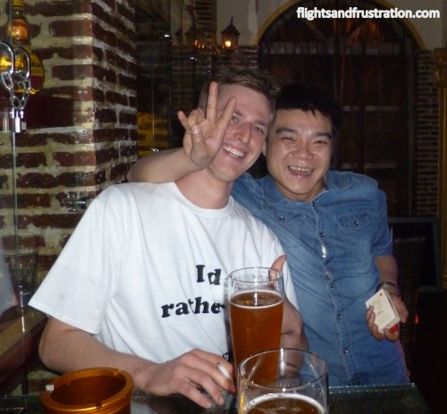 A local Chinese guy wanting his picture taken with Cez of etramping