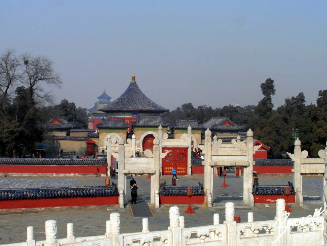 Temple of Heaven - all shrines in the distance