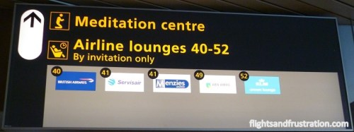 The KLM Crown Lounge is invitation only