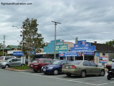 Shopping at the Woody Point Village