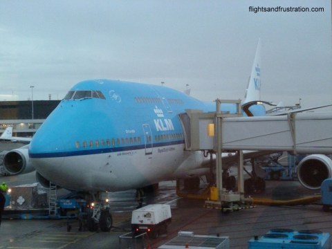 The KLM aircraft Orlando