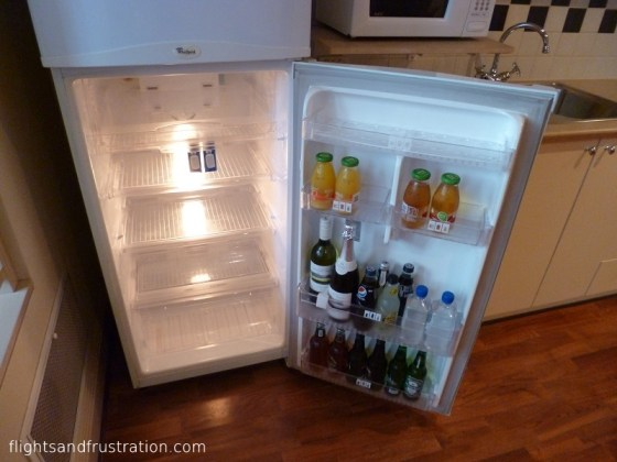 Well stocked fridge - melbourne holiday apartments