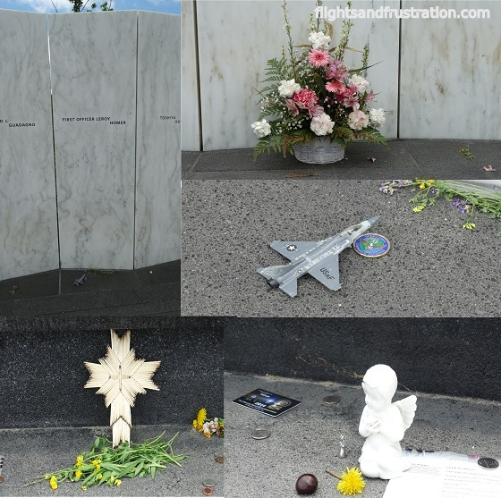 Tributes to the victims of Flight 93