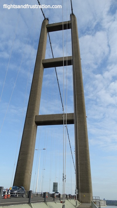 Humber Bridge Facts - how tall is the Humber Bridge
