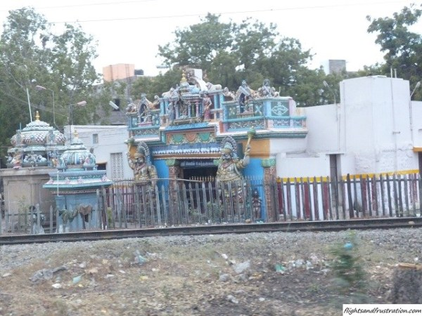 One of many Indian temples