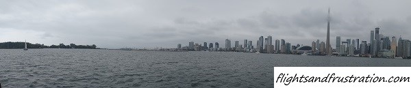 Shame it was an overcast summer day for the landscape shot of Toronto