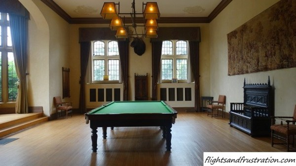 The billiard room, men only at casa loma toronto