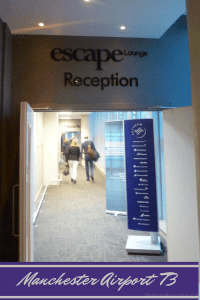 Escape Lounge Manchester Airport Terminal 3 Review