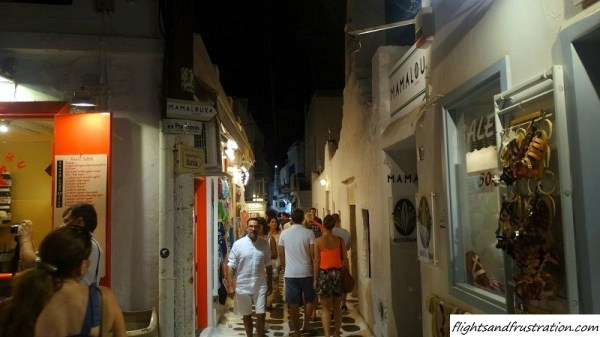 Narrow streets soon feel crowded