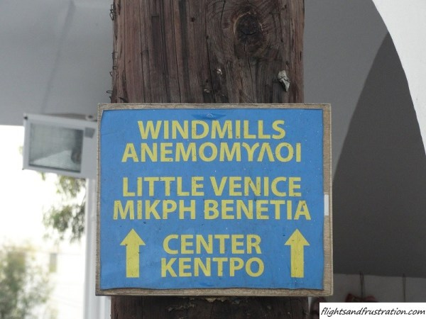 This way to the white Windmills and Little Venice