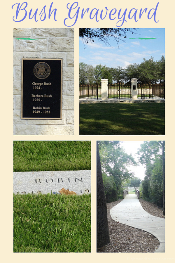 Bush Family Graveyard at george bush library college station