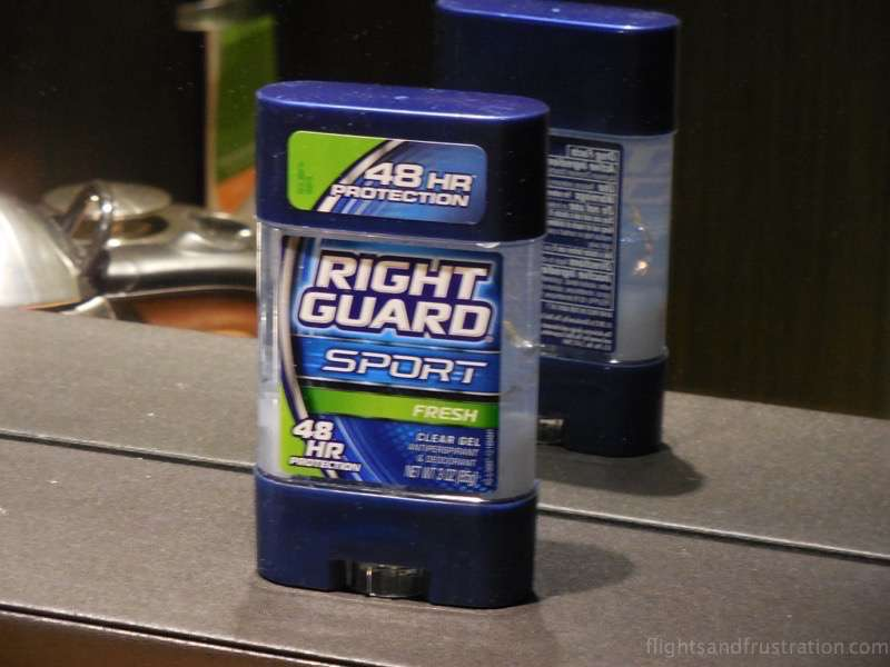 Deodorant customs of china