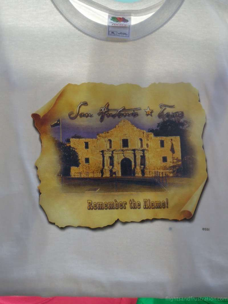 Remember The Alamo T-shirt the alamo san antonio