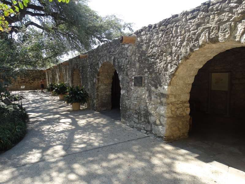 The Long Barrack at The Alamo San Antonio Texas