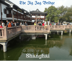 Yu Yuan Garden Shanghai And The Zig Zag Bridge