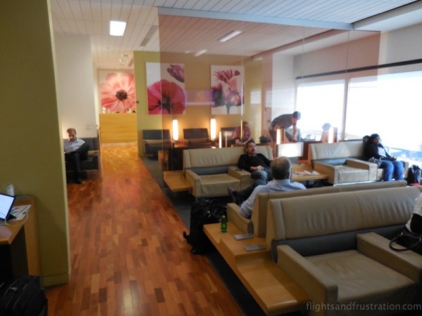 Air France Lounge at Houston Bush International