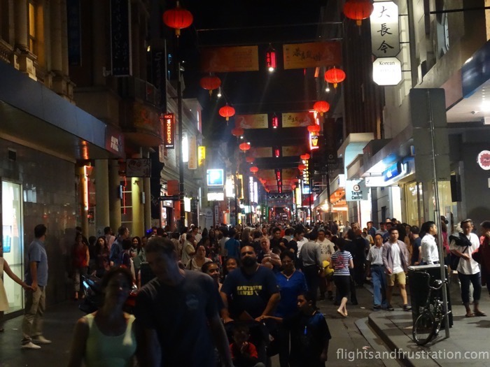 China Town on White Nights Melbourne