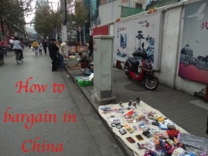 How to bargain in China – the art of barter in Shanghai