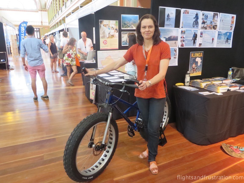 Kate Leeming and the fatbike for breaking the cycle south pole