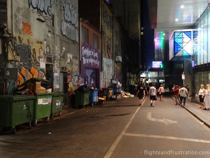 Showing the nicer side of Melbourne, Caledonian Lane during white night melbourne