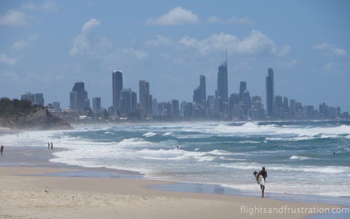 View to Surfers Paradise is one of many Burleigh Heads attractions