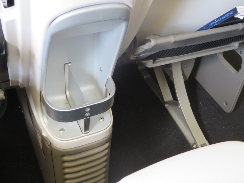 A little bit of storage space air france premium economy review
