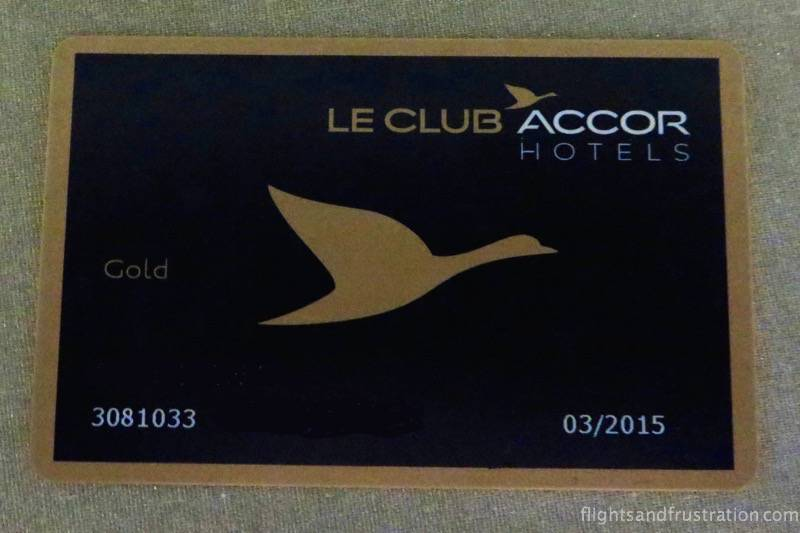 le club accor hotel - My Le Club Accor Hotels Gold card