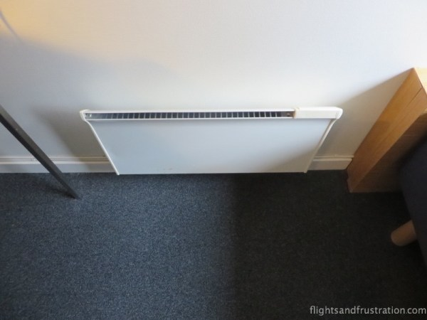 Compact but effective in room heater