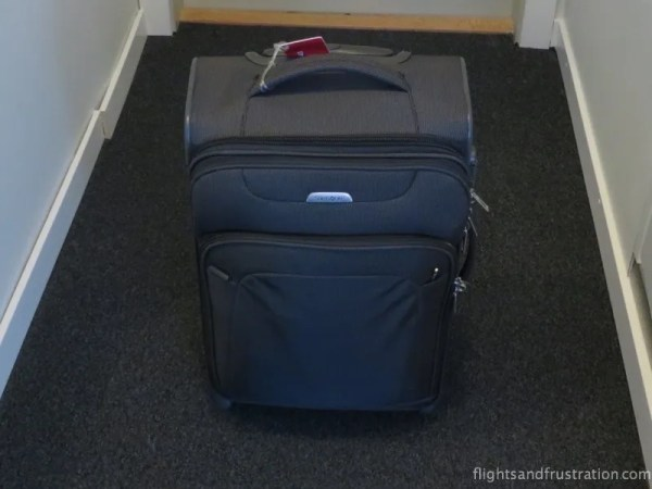 This bag complies with all dimensions of the KLM hand baggage policy