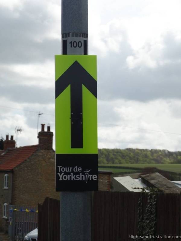 Tour De Yorkshire sign