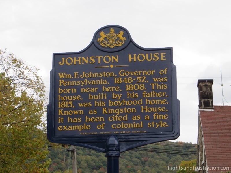 The Lincoln Highway Experience is based in Johnston House which is now 200 years old