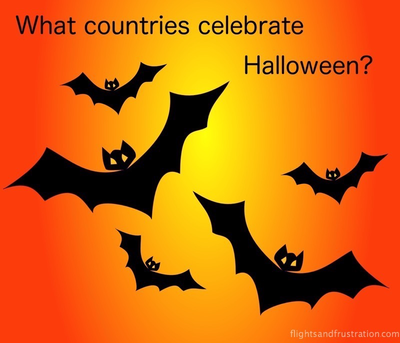 What countries celebrate halloween around the world