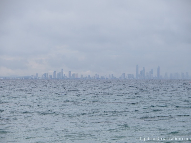 The view of Surfers Paradise
