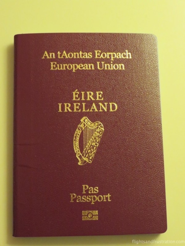 Applying for an Irish passport