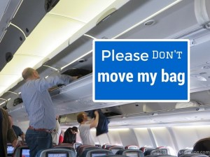 Please Don't Move My Bag