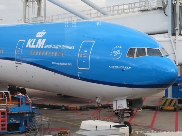 Kaziranga National Park plane names KLM