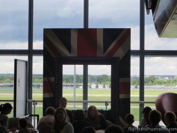 A very British airport experience at Heathrow Terminal 5