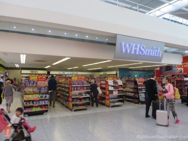 WH Smith at London Heathrow Terminal 5