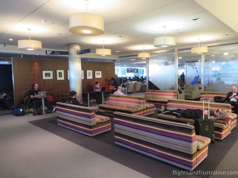 Inside the British Airways heathrow terminal 5 Business Class lounge