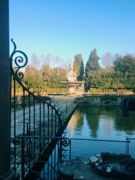 La Vasca dell'Isolotto, Boboli Gardens