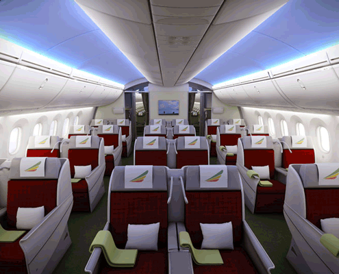 Ethiopian Airlines Booking Business Class