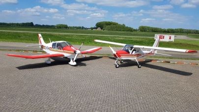 De vloot van Flight School Teuge bv.