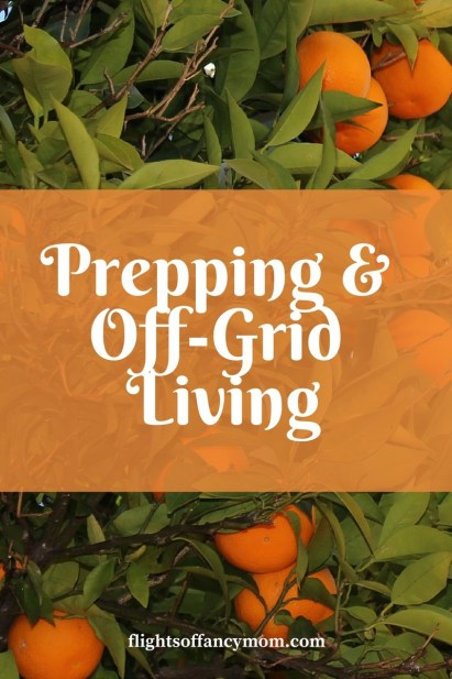 prepping and off-grid living