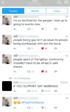 Growing up gay in an intolerant society