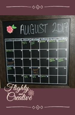 Flighty and Creative Time Management Tips Calendar